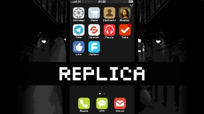 Replica Makes an Unexpected Phone Call Today on Nintendo Switch