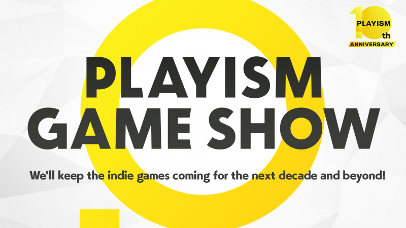 We are very proud to annouce that PLAYISM just had its 10th birthday.