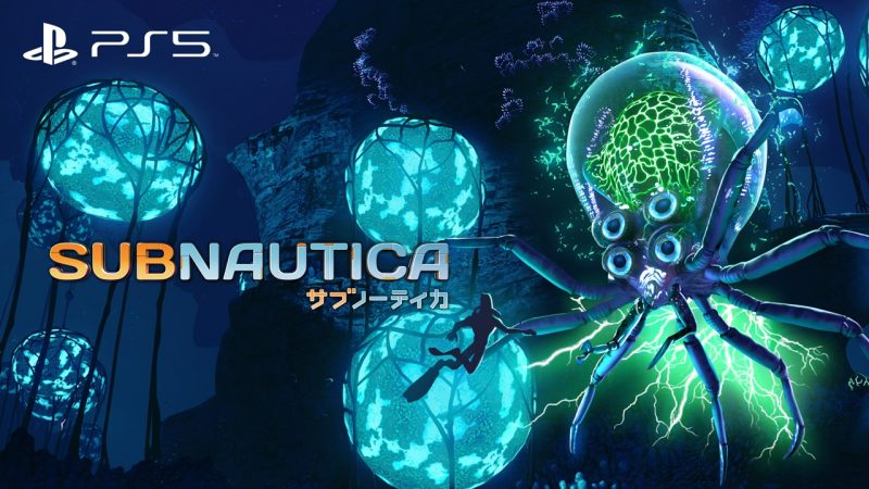 Open World Underwater Survival Adventure Subnautica coming to PlayStation®5 May 14th, 2021.